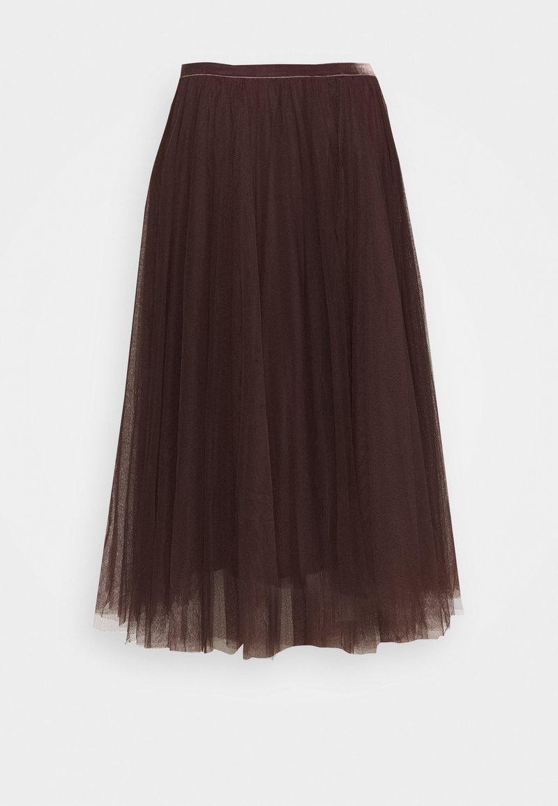 Cream - DIANA SKIRT - A-line skirt - dark brown