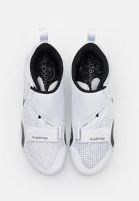 Nike Performance - SUPERREP CYCLE - Cycling shoes - white/black - 1