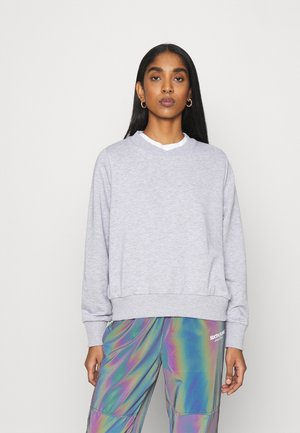 NMLUPA - Sweatshirt - light grey melange