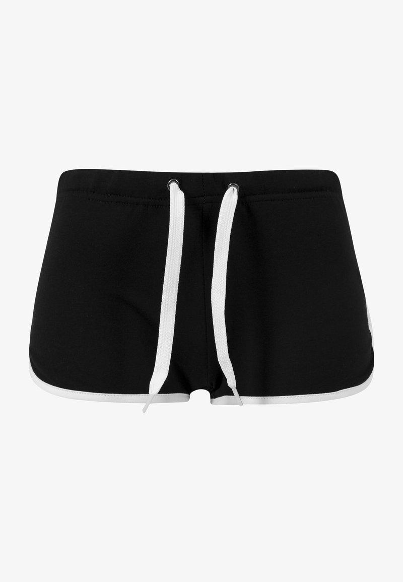 Urban Classics - Shorts - black/white