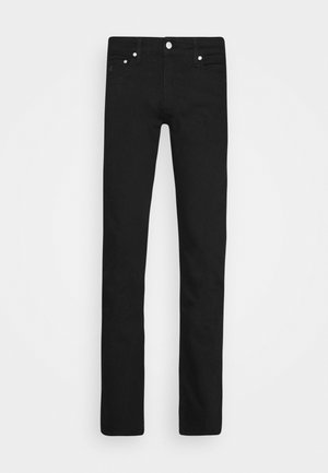 SLIM - Jeansy Slim Fit - black denim