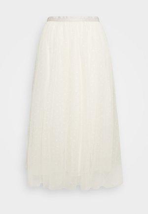 KISSES BALLERINA SKIRT - Áčková sukně - champagne