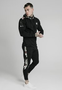 SIKSILK - Sweatjacke - black - 1