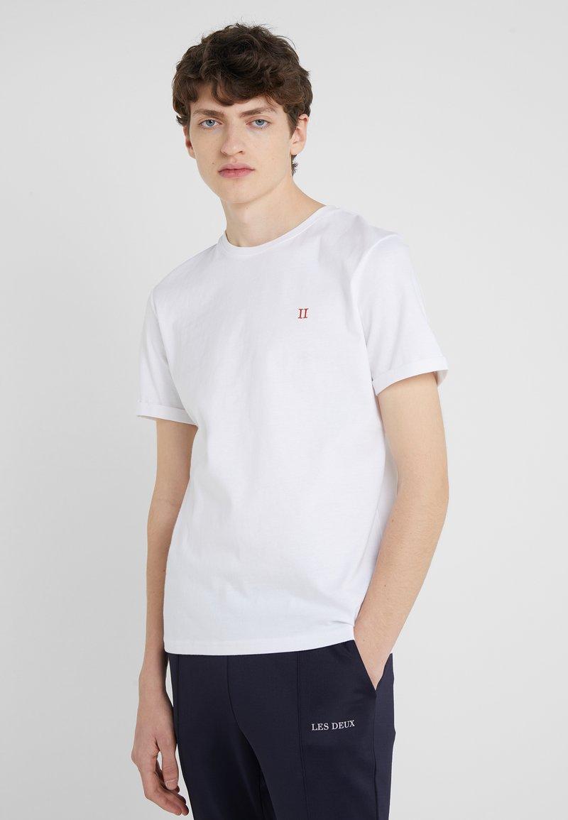 Les Deux - NØRREGAARD - T-shirts basic - white