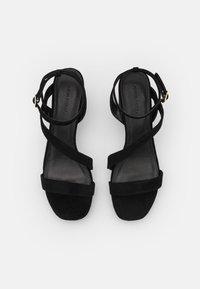 Anna Field Wide Fit - Sandály na vysokém podpatku - black - 4
