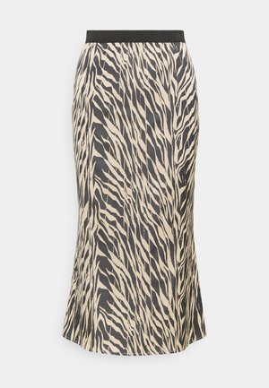 SANDRA ELLANORA SKIRT - Pencil skirt - black zebra