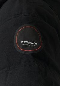 Icepeak - BRILON - Winter coat - black - 6