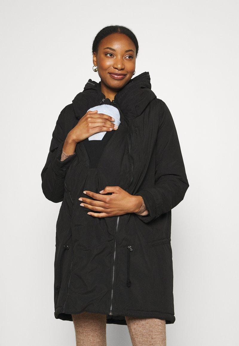 MAMALICIOUS - MLTIKKA PADDED JACKET - Winter coat - black