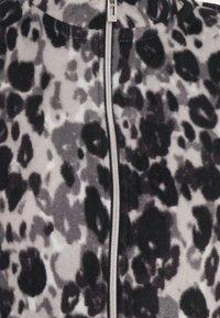 CAPSULE by Simply Be - LEOPARD PRINT JACKET - Fleece jumper - grey - 2