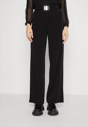 WIDE  - Pantalon classique - black