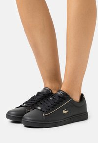 Lacoste - CARNABY EVO  - Baskets basses - black - 0