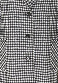 Marc Cain - Classic coat - black/white - 2