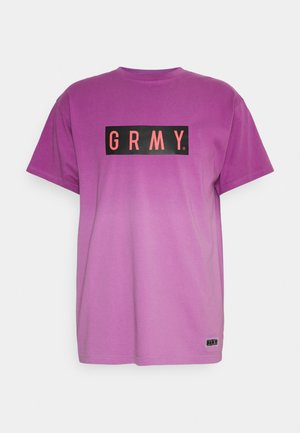UNISEX FRENZY GRADIENT TEE - T-shirt med print - purple