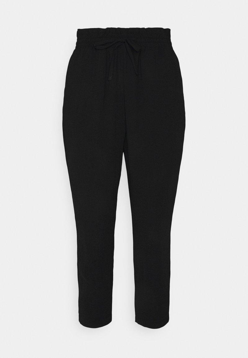 Vero Moda Petite - VMKENDRAKARINA PANT  - Tygbyxor - black