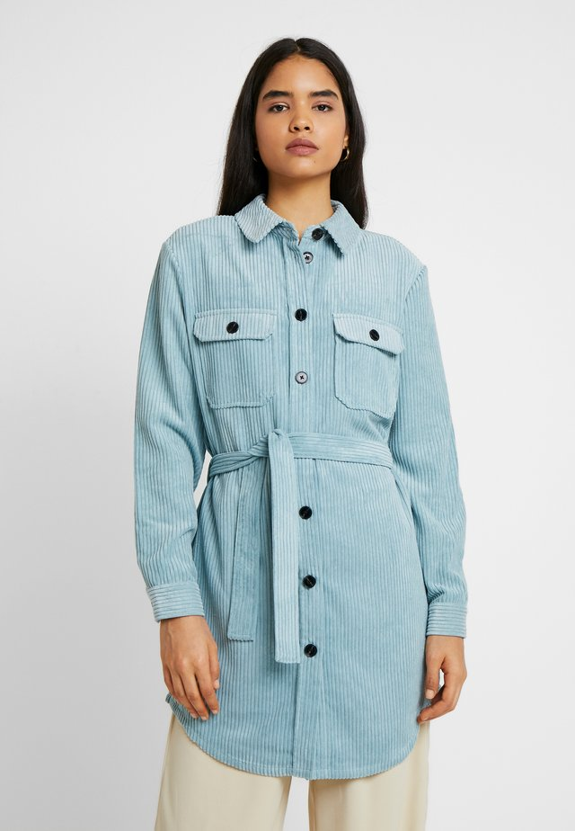 VMCORDAFIA LONG SHIRT TALL - Camisa - slate