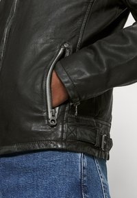 Gipsy - HALOW - Leather jacket - black - 6