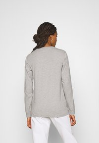 adidas Originals - 3-STRIPES ADICOLOR - Long sleeved top - medium grey heather - 2