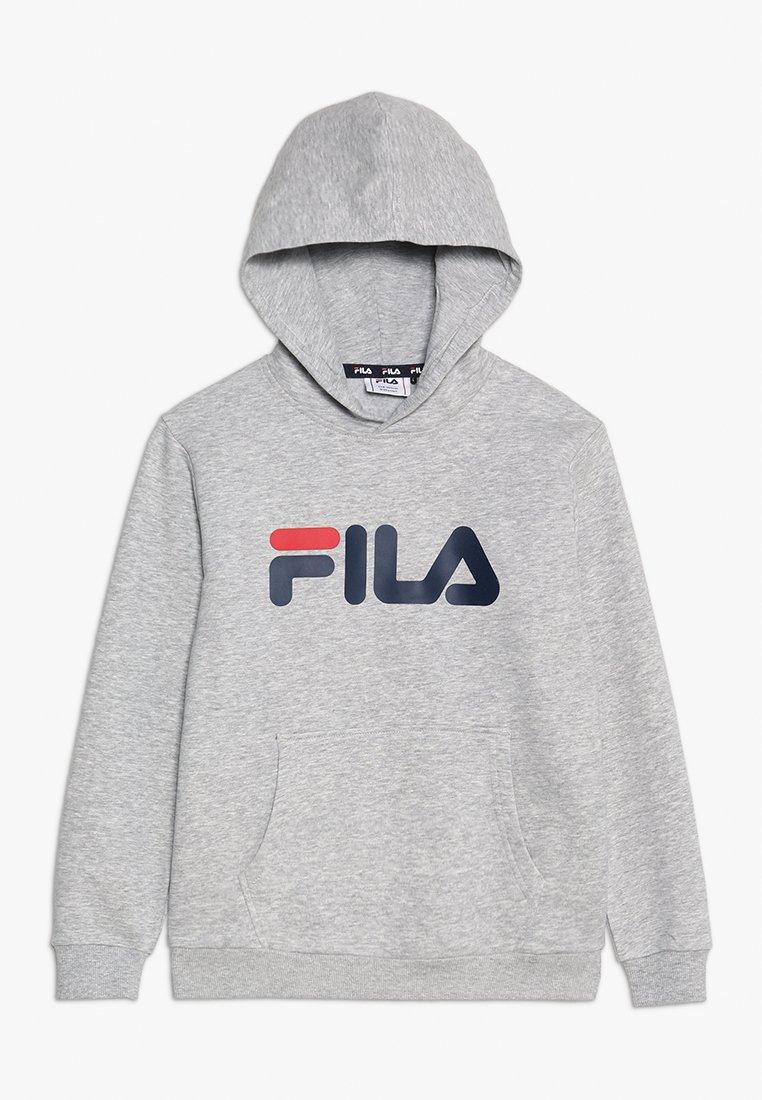 Fila - CLASSIC LOGO HOODY - Luvtröja - light grey melange