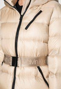 Calvin Klein - BELTED DOWN JACKET - Down jacket - grey - 4