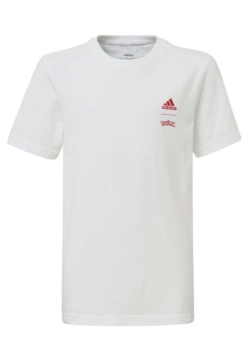 adidas Performance - POKÉMON T-SHIRT - Print T-shirt - white
