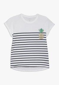 Name it - NKFJPINAPPLE - T-shirts print - bright white/dark sapphire - 0