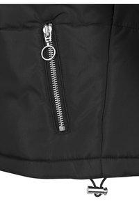 Urban Classics - LADIES OVERSIZED HIGH NECK JACKET - Light jacket - black - 4