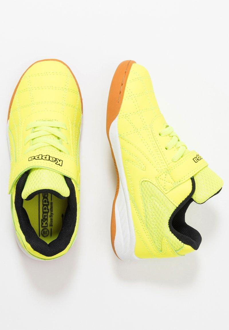 Kappa - FURBO UNISEX - Sports shoes - yellow/black