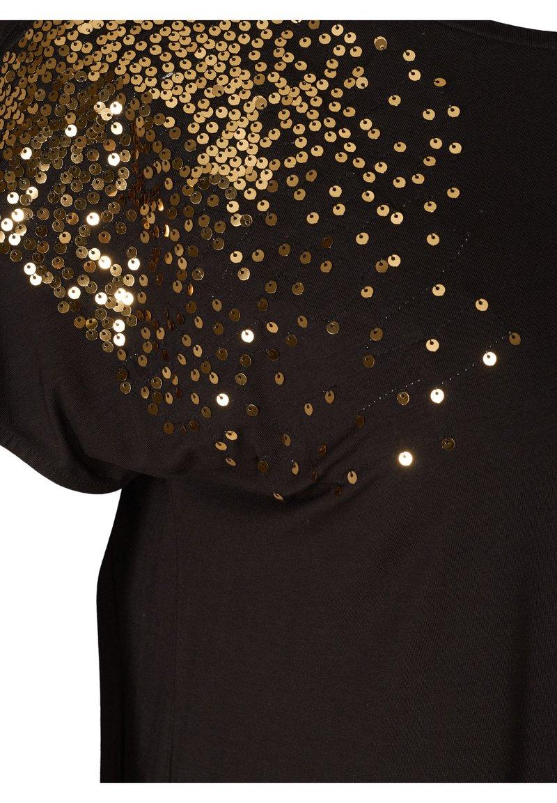 Zizzi T-Shirt print - black/schwarz ySfE5k