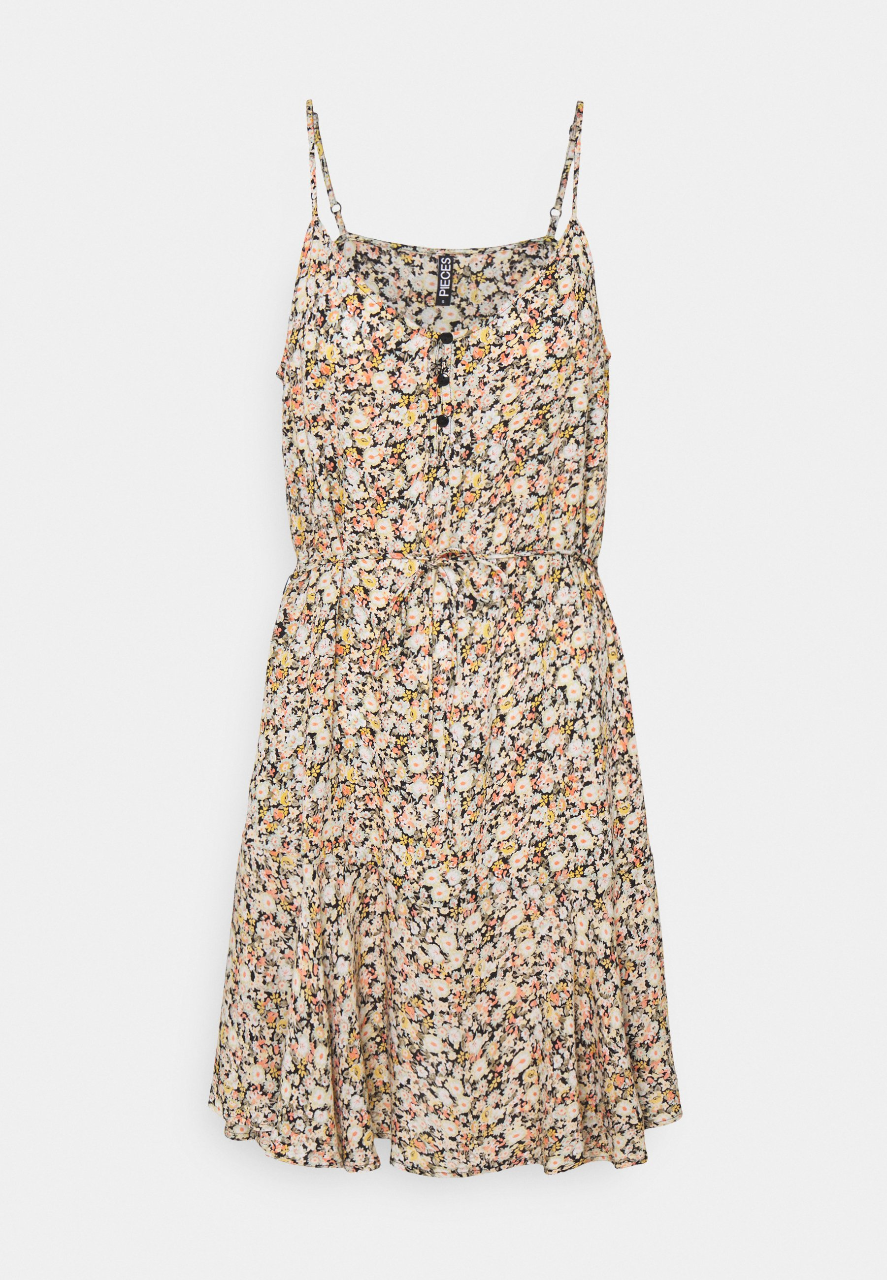 Women PCNYA SLIP BUTTON DRESS - Day dress