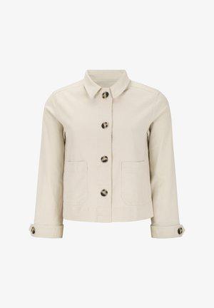 Summer jacket - 002 snow white / off white