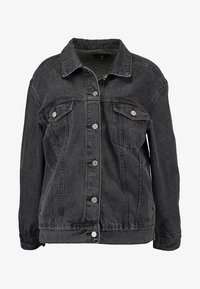 Missguided - OVERSIZED JACKET - Cowboyjakker - black - 5