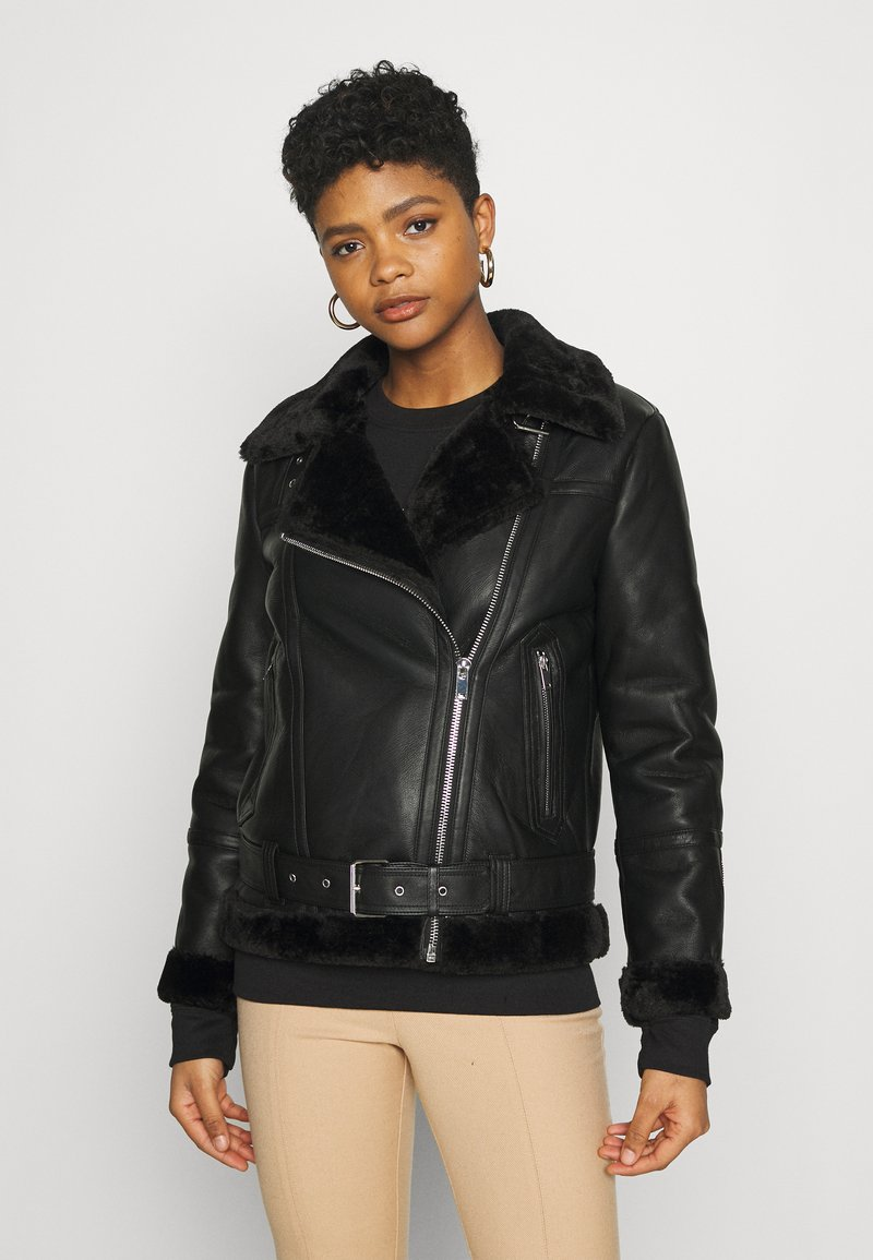 Topshop - CASSY - Light jacket - black