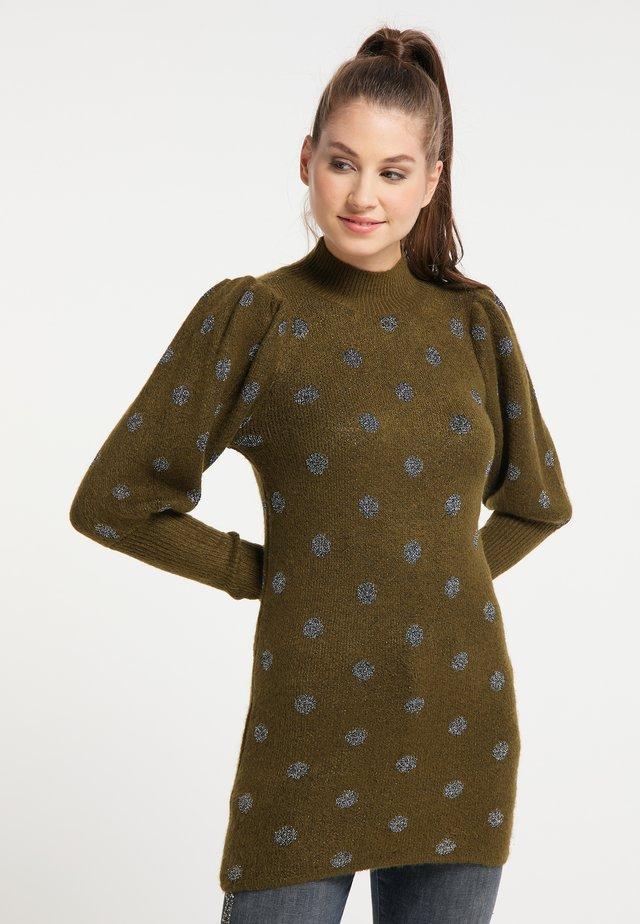 Jersey de punto - oliv