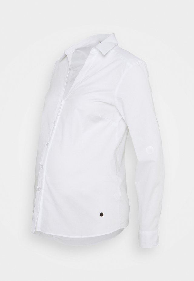 BLOUSE SUSTAINABLE - Blouse - white
