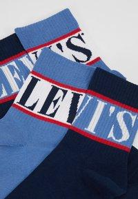 Levi's® - SHORT SOCK SPORT STRIPE 2 PACK - Socks - blue - 2