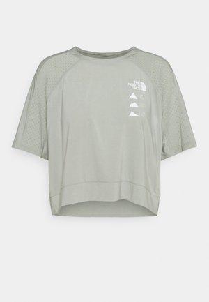 GLACIER TEE  - T-shirt imprimé - mottled grey