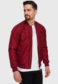 INDICODE JEANS - NOVAK - Light jacket - bordeaux - 0