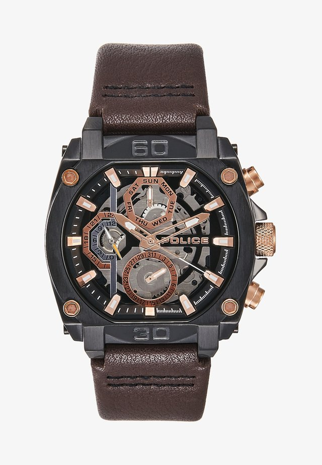 NORWOOD - Montre - brown/gold-coloured