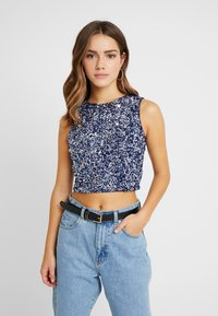 Lace & Beads Petite - PICASSO - Blouse - navy - 0