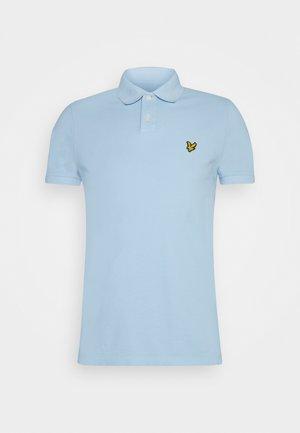 Polo shirt - fresh blue