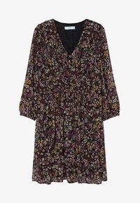 Mango - PLISE - Day dress - noir - 5
