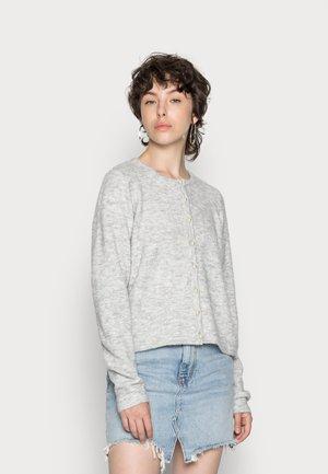 VMKATIE O NECK CARDIGAN  - Cardigan - light grey melange