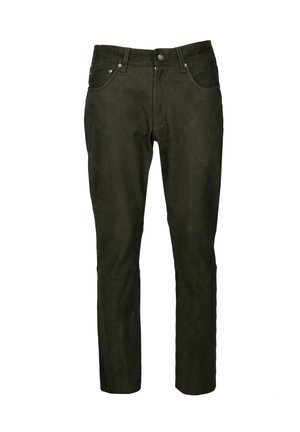 Straight leg jeans - olive