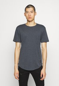 Only & Sons - MATT 5 PACK - T-shirt basic - dark grey melange/cabernet mel - 4