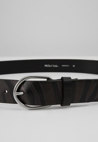 PS Paul Smith - BELT ZEBRA STRIPE - Belt - black - 3