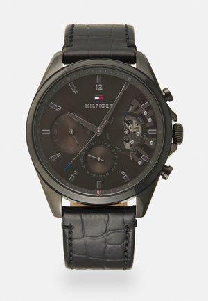 BAKER - Chronograph watch - black/grey