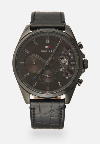 BAKER - Zegarek chronograficzny - black/grey