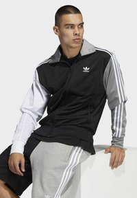adidas Originals - BLOCKED FIREBIRD TRACK TOP - Training jacket - black - 3