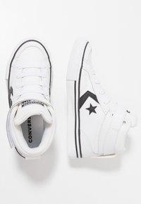 Converse - PRO BLAZE STRAP - Baskets montantes - white/black - 0