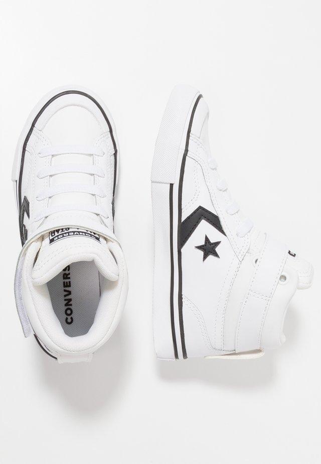 PRO BLAZE STRAP - High-top trainers - white/black